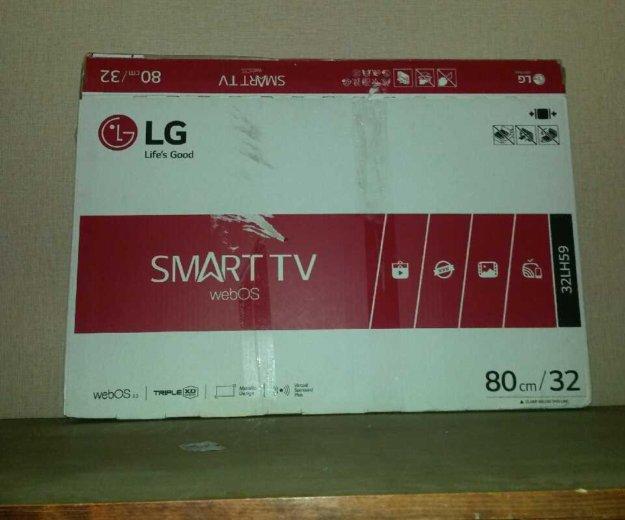Телевизор lg 32lh59 smart tv web os. Фото 2. Владимир.