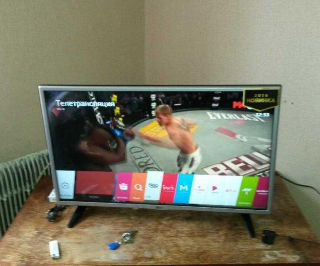 Телевизор lg 32lh59 smart tv web os. Фото 1. Владимир.