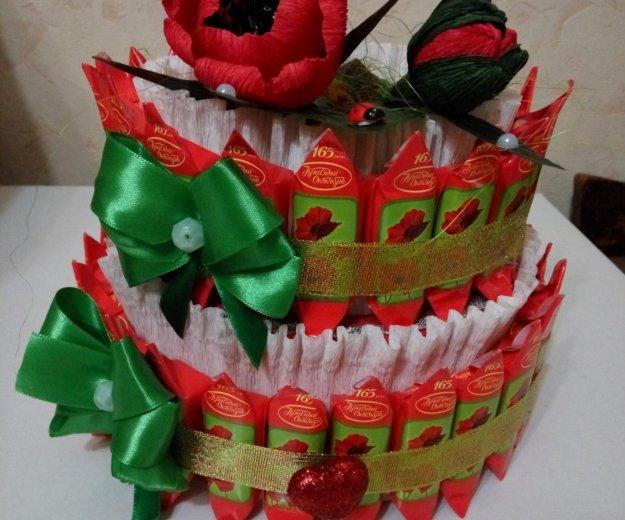 """Торт из конфет """"маки"""". Фото 2. Рязань."""