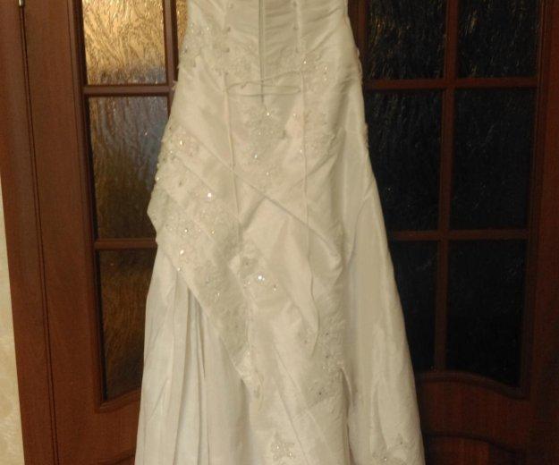 Свадебное платье 44-46. Фото 3. Люберцы.