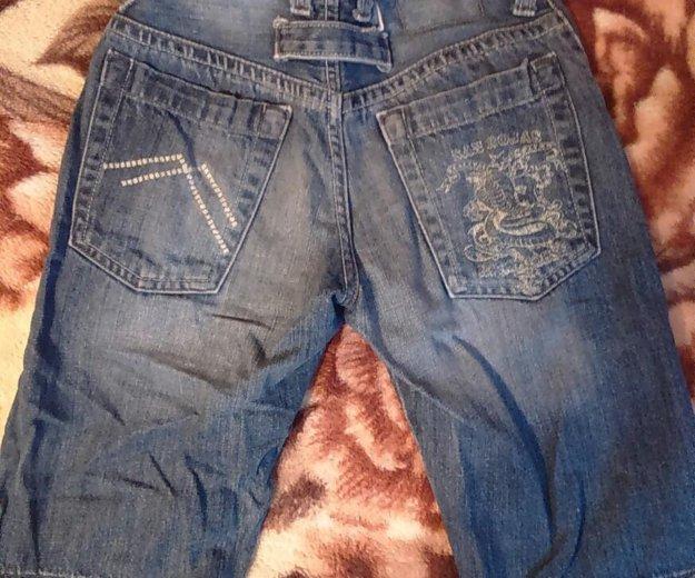 Бриджи джинсовые. Фото 2. Москва.