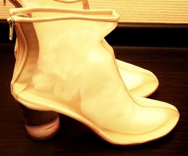 Ботинки прозрачные, 37,5-38 р. Фото 1. Самара.