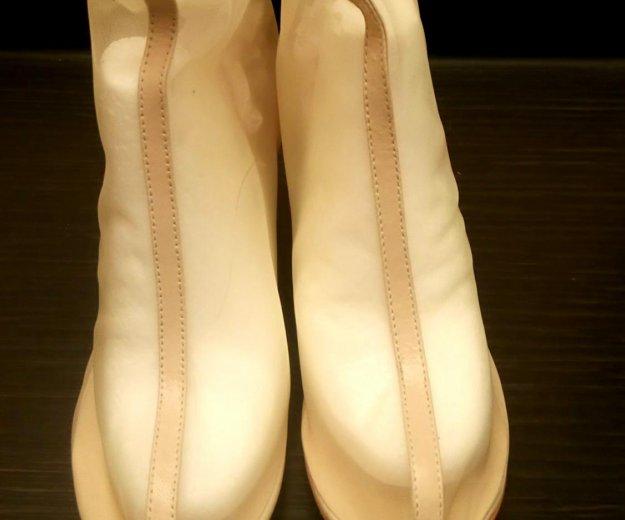 Ботинки прозрачные, 37,5-38 р. Фото 2. Самара.