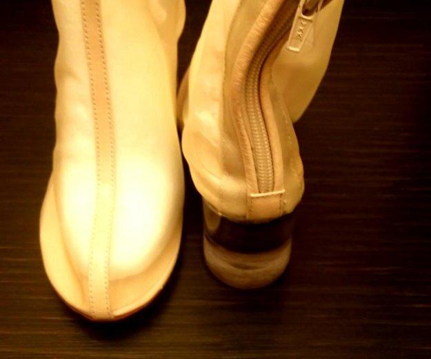 Ботинки прозрачные, 37,5-38 р. Фото 3. Самара.