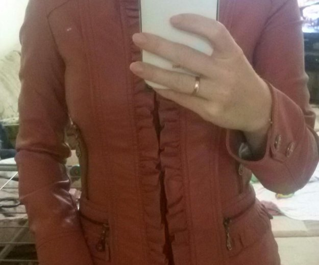 Куртка. натуральная кожа. Фото 2. Омск.