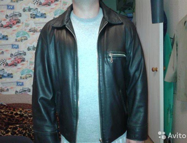 Кожаная куртка. Фото 1. Монино.