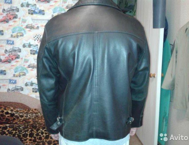 Кожаная куртка. Фото 2. Монино.