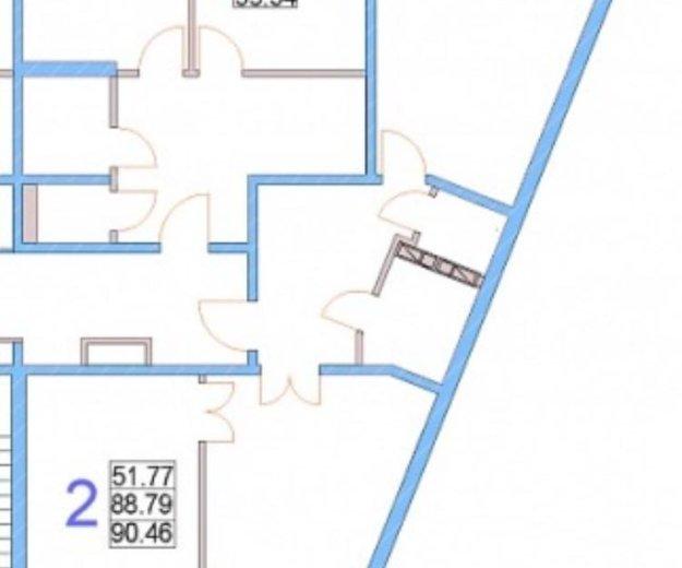 Квартира 2 ком. 90,46 м2 срочно! 3200 000. Фото 2.