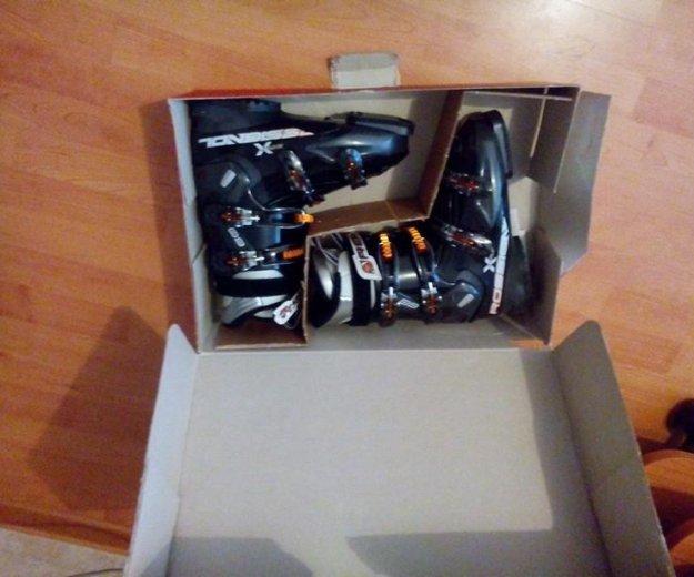 Горнолыжные ботинки. Фото 1.