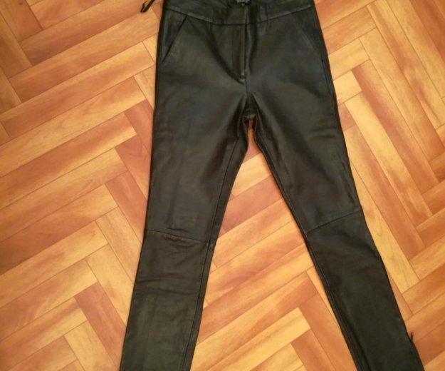 Кожаные брюки topshop оригинал. Фото 1.