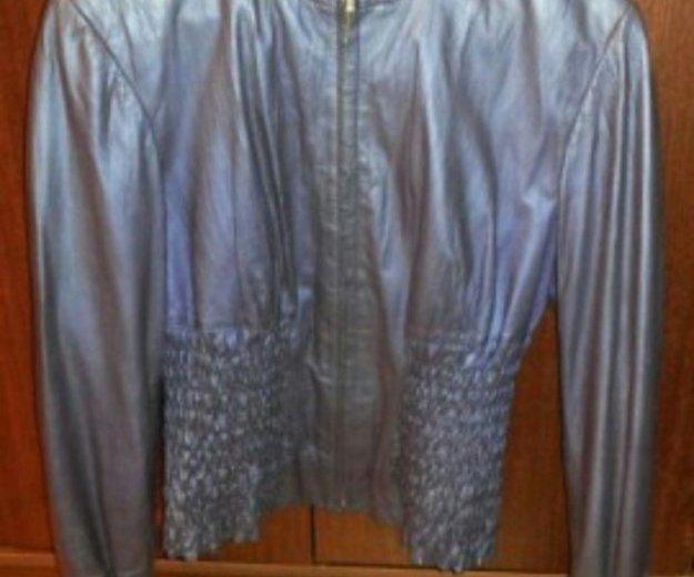 Кожанная куртка из турции. Фото 1. Мытищи.