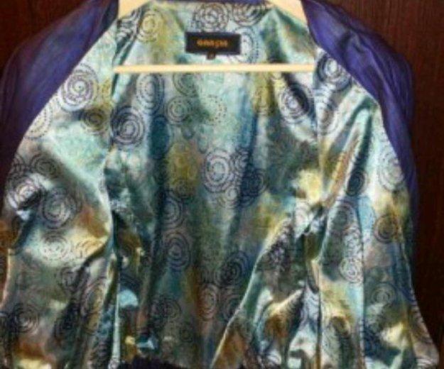 Кожанная куртка из турции. Фото 2. Мытищи.