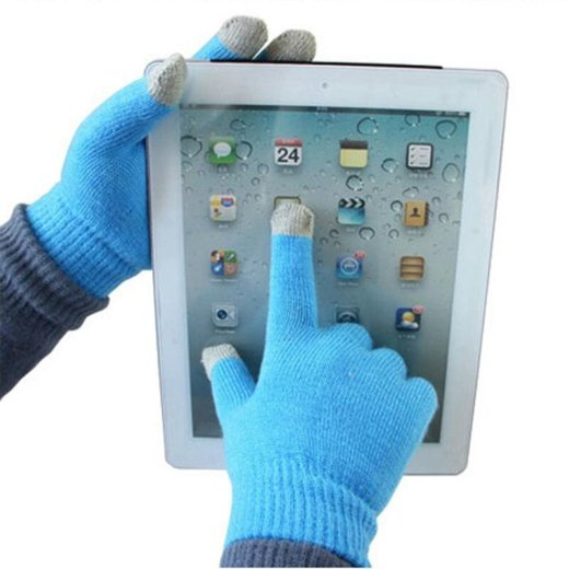 Перчатки для сенсорных экранов. Фото 1. Санкт-Петербург.