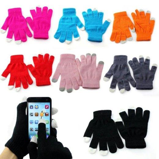Перчатки для сенсорных экранов. Фото 2. Санкт-Петербург.
