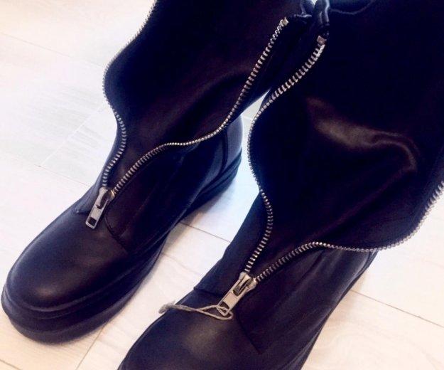 Ботинки мужские новые. Фото 3.