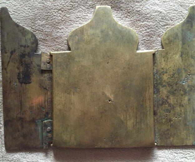 Большой складень николай можайский 19 век. Фото 2. Челябинск.