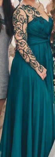 Платье от известного  турецкого кутюрье tarik ediz. Фото 2. Казань.