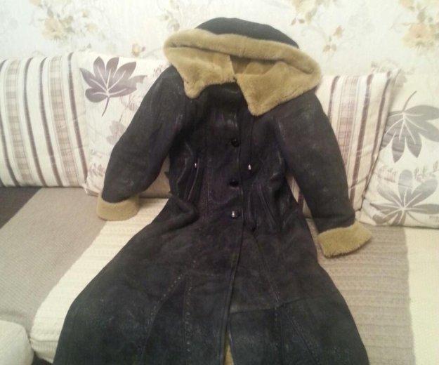 Дубленка женская длинная. Фото 1. Омск.