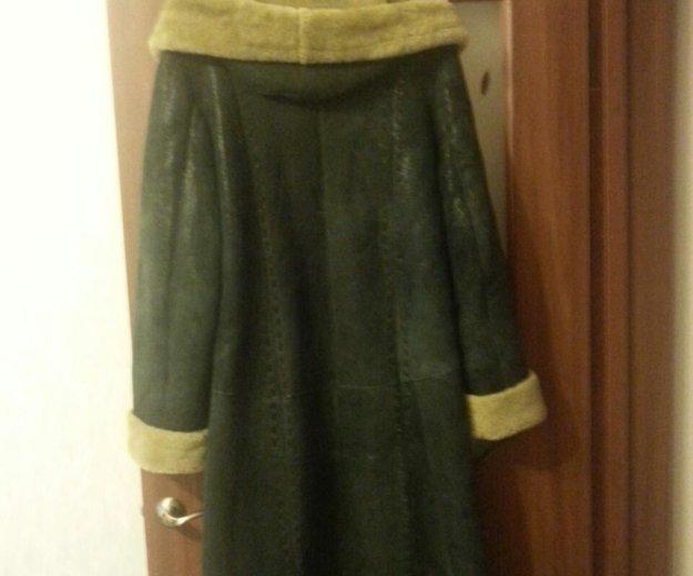 Дубленка женская длинная. Фото 4. Омск.