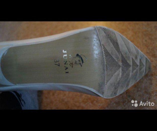 Туфли белые 37 р. Фото 2. Волгоград.