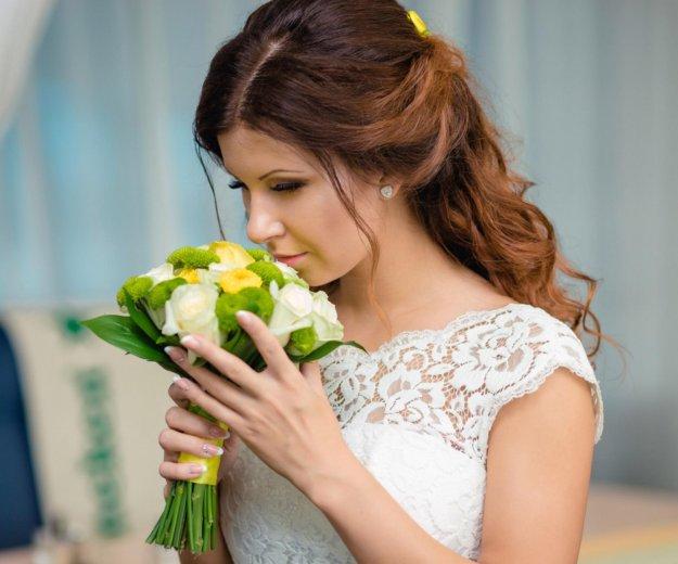 Прически свадебные, вечерние. макияж. плетение кос. Фото 1. Омск.