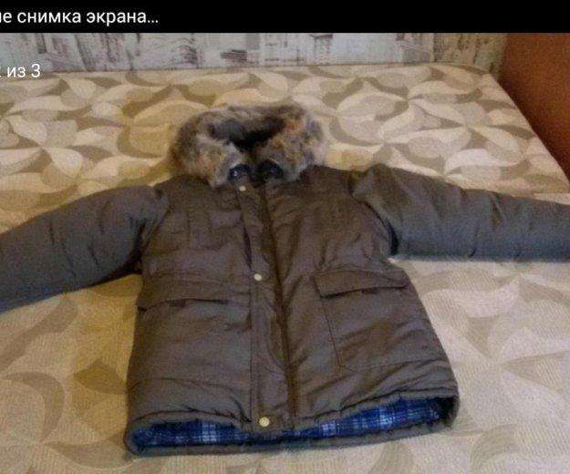 Теплая, зимняя куртка. Фото 2. Нижнекамск.