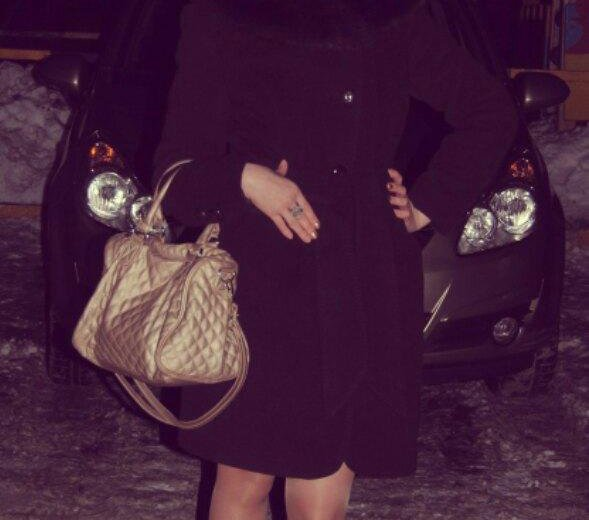 Зимнее пальто р-р 44 (теплое). Фото 4. Тюмень.