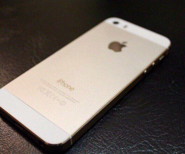 Айфон 5s gold 16. Фото 2.