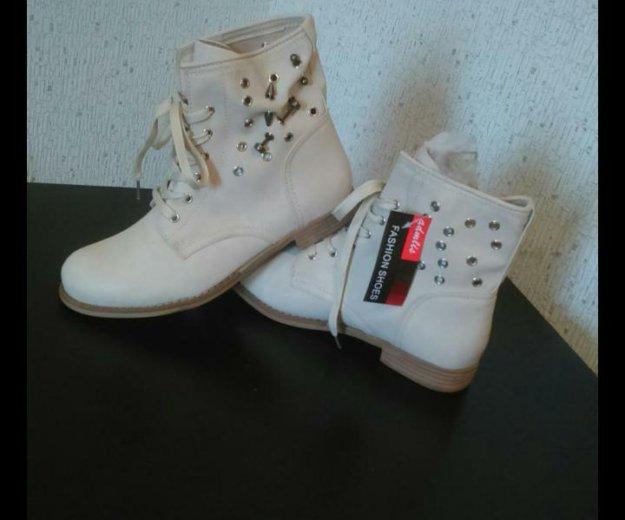 Новые ботинки!!! р.41. Фото 2. Москва.