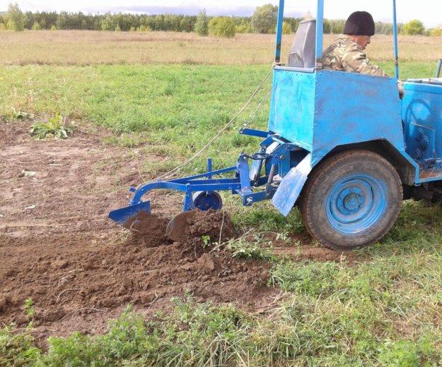 Мини-трактор с навесными оборудованиями. Фото 2. Йошкар-Ола.