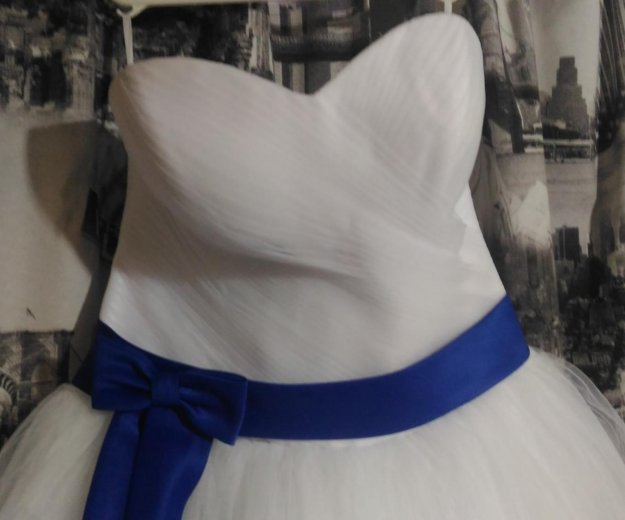 Свадебное платье. Фото 3. Солнечногорск.