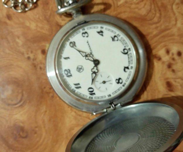 Часы карманные ссср. Фото 1. Якутск.