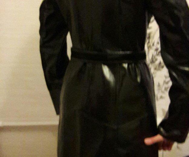 Кожаное пальто с мехом нерпы. Фото 2. Самара.