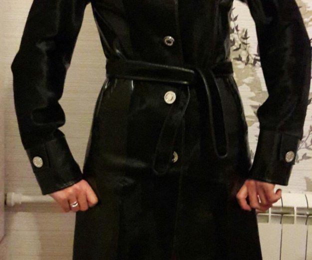 Кожаное пальто с мехом нерпы. Фото 4. Самара.