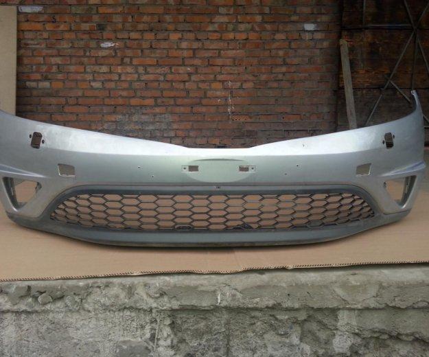 Передний бампер хонда сивик 5 д б/у. Фото 3. Санкт-Петербург.