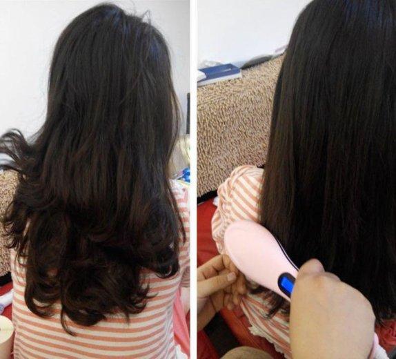 Расческа выпрямитель fast hair straightener. Фото 4.