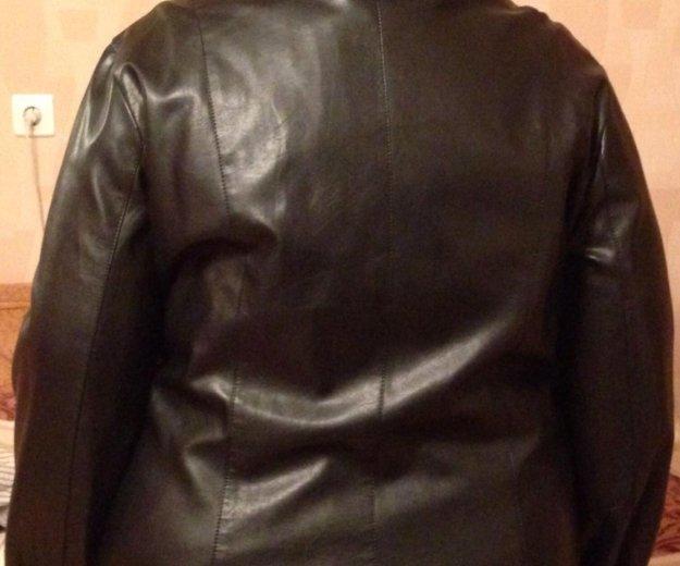 Куртка кожзам 62 размер. Фото 1. Санкт-Петербург.
