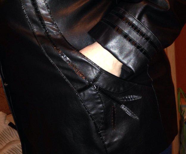 Куртка кожзам 62 размер. Фото 3. Санкт-Петербург.