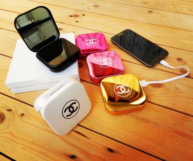 Портативное зарядное устройство powerbank chanel. Фото 2. Тюмень.