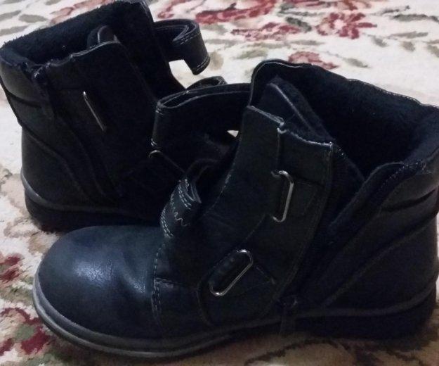 Ботинки осень теплые размер 34.состояние хорошее. Фото 1. Волгодонск.