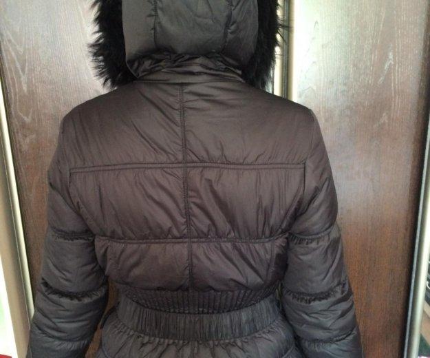Пуховик девичий размер 42-44. Фото 2. Барнаул.