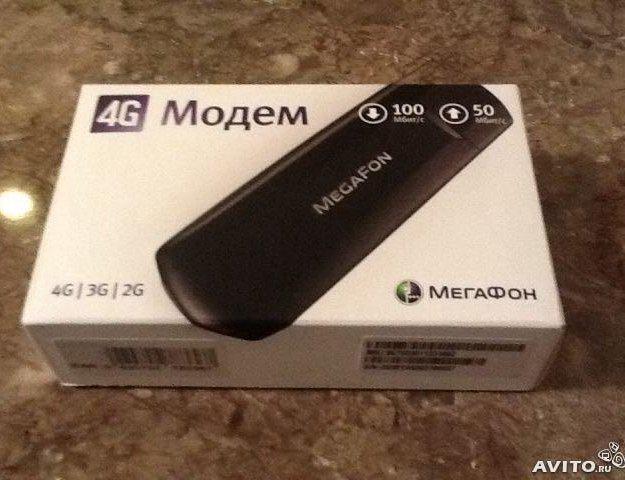 Модем 4g мегафон. Фото 1.