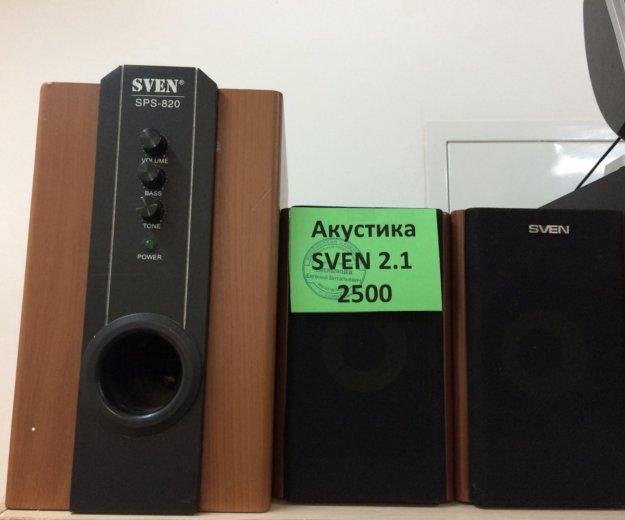 Колонки sven 2.1. Фото 1. Самара.