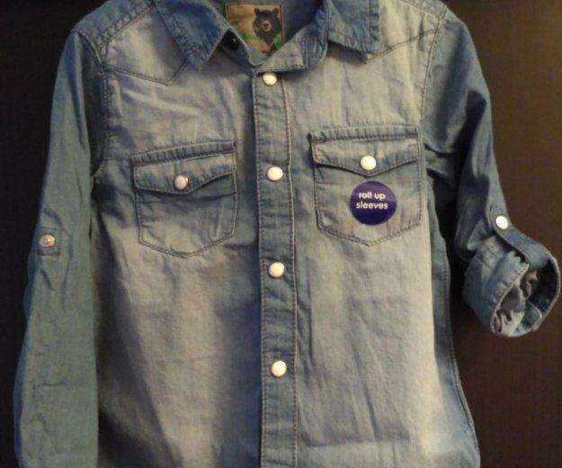 Рубашка джинсовая. Фото 1. Москва.