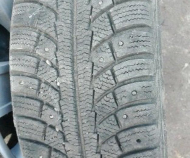 Gislaved nord frost 5 195/55 r15 + диски lacetti. Фото 2.