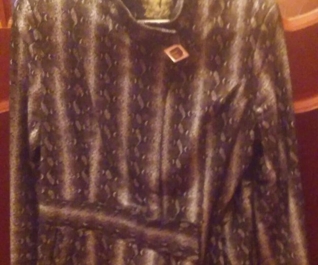 """куртка под кожу питона"". Фото 1. Братск."