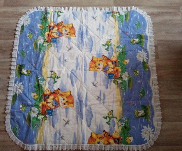 Одеялко в кроватку или коляску, и подушечка. Фото 3. Кемерово.