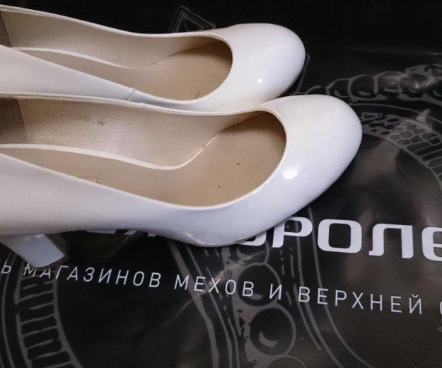 Белые туфли. Фото 2. Подольск.