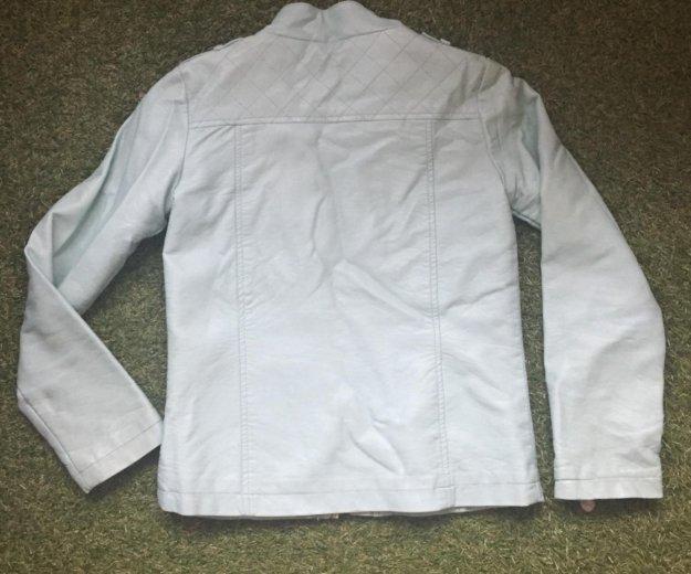 Куртка кожзам для девочки. Фото 1.