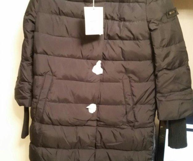 Элегантное пальто пуховик. Фото 4.